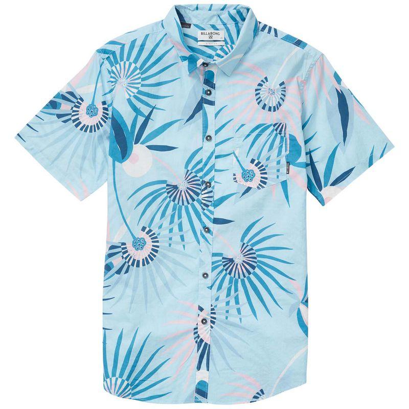 Camisa-Manga-Corta-Niño-Sunday-Floral