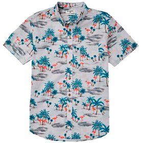 Camisa Manga Corta Niño Sundays Floral II