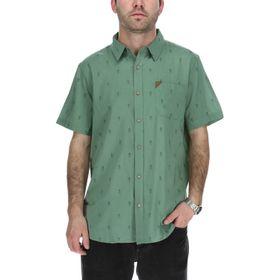 Camisa Manga Corta Hombre Pineapple