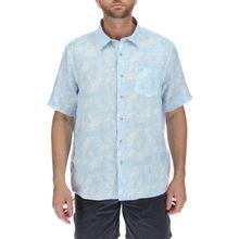 Camisa Hombre Linen Print