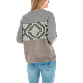 Sweater con Lana Mujer Etnic
