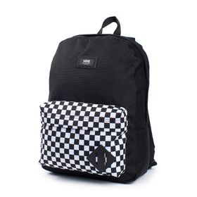 Mochila Youth By New Skool Boys (5 a 12 años) Black-Checker