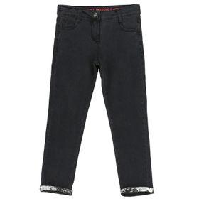 Jeans Plateado