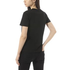 Polera Flying V Crew Tee Black