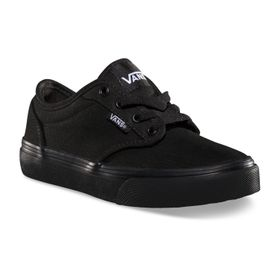 Zapatillas Niño Atwood Canvas Black/Black