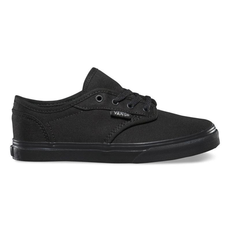 Zapatillas-Atwood-Low-Youth--5-a-12-años---Canvas--Black-Black