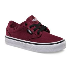 Zapatillas Niño Atwood Canvas Oxblood/Black