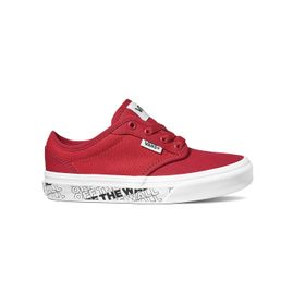 Zapatillas Atwood Youth (5 a 12 años) (Otw) Chili Pepper/White