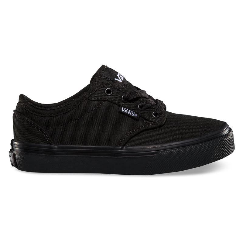 Zapatillas-Niño-Atwood-Canvas-Black-Black