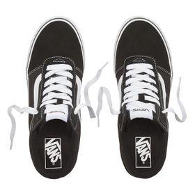 Zapatillas Ward Hi (Suede/Canvas) Black/White