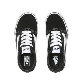 Zapatillas Ward Youth (5 a 12 años) (Suede/Canvas) Black/White