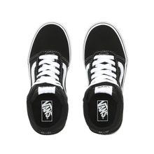 Zapatillas Ward Hi Youth (5 a 12 años) (Suede/Canvas) Black/White