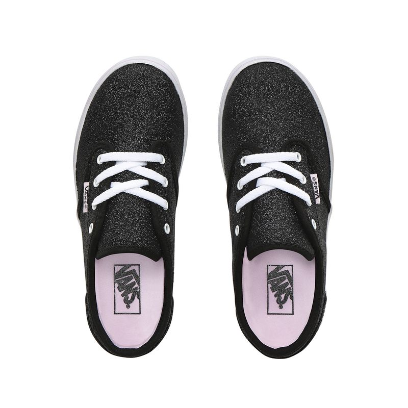 Zapatillas-Atwood-Low-Youth--5-a-12-años---Glitter--Black-Lilac-Snow