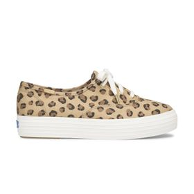 Zapatilla Triple Canvas Leopard