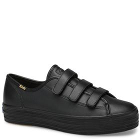 Zapatilla Triple Kick Velcro Leather