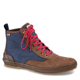 Botín Mujer Scout Suede Wool Wx
