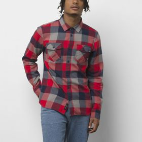 Camisa Box Flannel Racing Red-Dress Blues