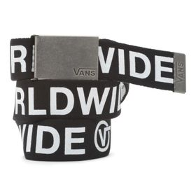 Cinturón Long Depster Web Belt Black-White