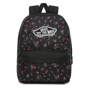 Mochila Realm Backpack Beauty Floral Black