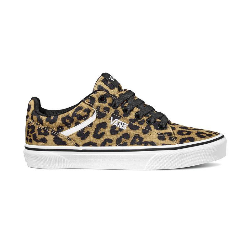 Zapatillas-Seldan--Cheetah--Black-White