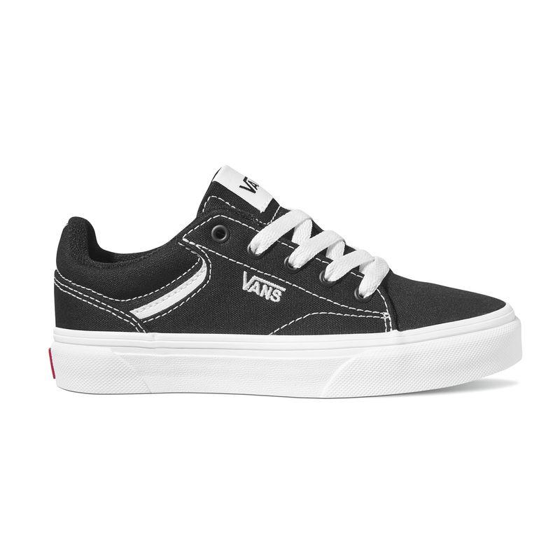 Zapatillas-Yt-Seldan-Youth--5-a-12-años---Canvas--Black-White