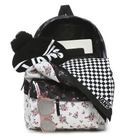 Mochila Realm Classic Backpack Beauty Floral Patchwork