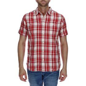 Camisa Manga Corta Hombre Foundation Large Plaid
