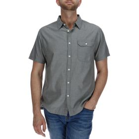 Camisa Manga Corta Hombre Foundation Chambray