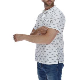 Camisa Manga Corta Hombre Foundation Triangle Ao