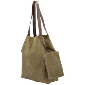 Cartera Cuero Mujer Granate Bag